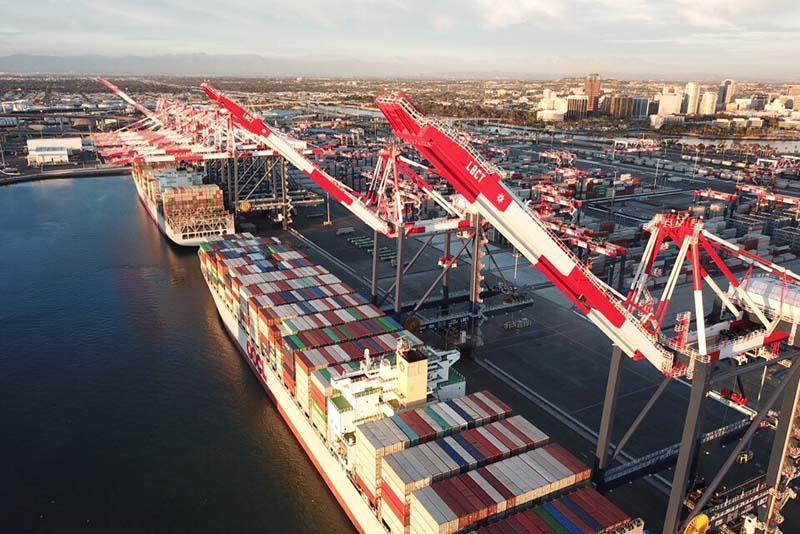 Long Beach Container Terminal - USA